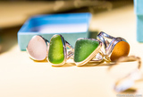 Sea Glass Ring (All Styles/Settings) RISG1