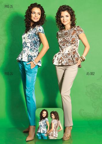 Блуза TOP DESIGN, 2 цвета. Предзаказ. Новая коллекция 2015!