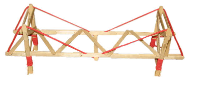 how to build a suspension bridge out of popsicle sticks