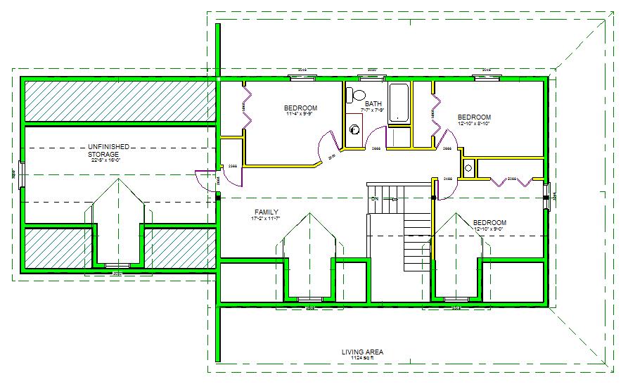 H105 Custom Home Design  RV Garage Plans and Blueprints