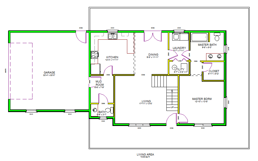 House plans sds plans for Apartment plans dwg format
