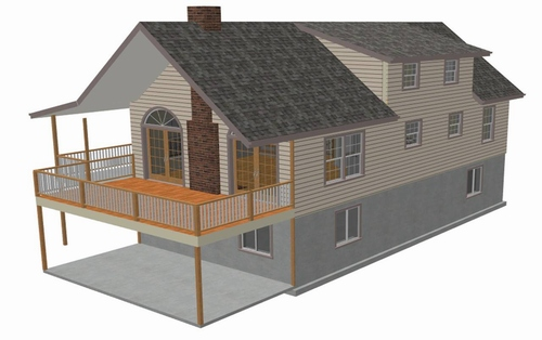 Custom Cabin plans Home Design