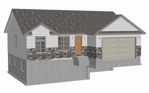 Auto CAD House Plans