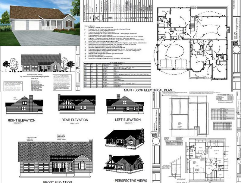 H126 house plans