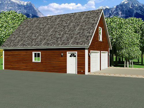 Instant garage plans with apartments for 36 x 36 garage with apartment