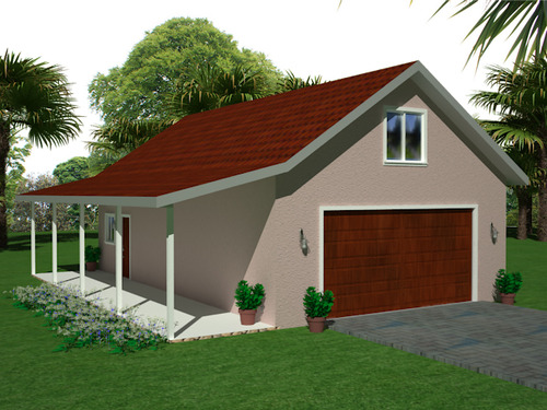 Instant garage plans with apartments for Detached garage plans