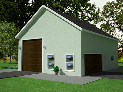 Garage with apartment plans cb offer garage with for 40 x 40 apartment plans