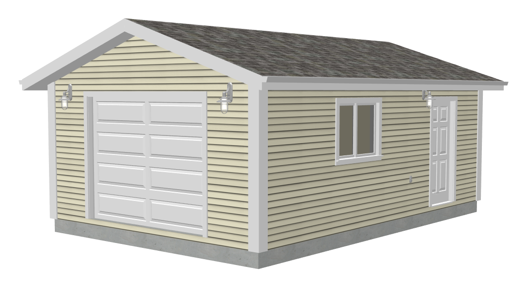 16 x 24 garage plans free free download pdf woodworking 16 for Garage plans free download