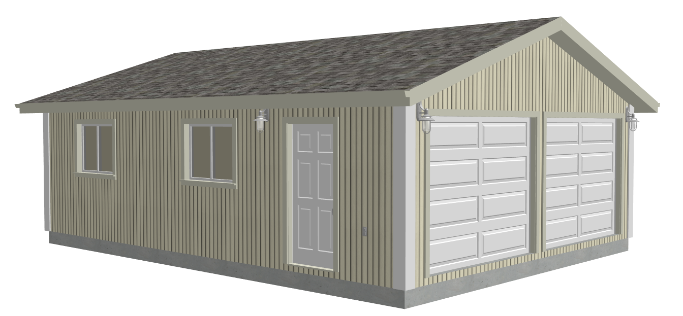 G529 22 X 30 X 8 Garage Plans Dwg And Pdf Rv Garage Plans