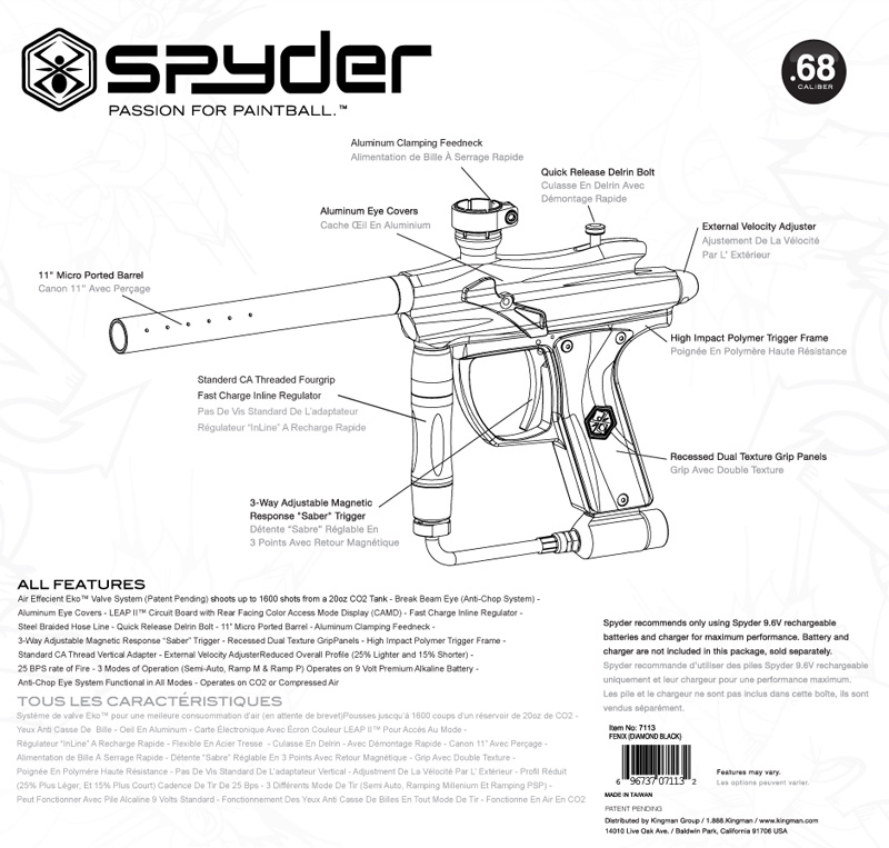2012 Spyder Fenix Box (Back)
