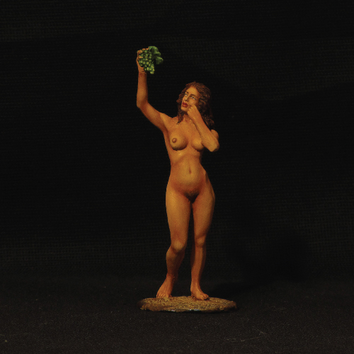 Girl with Grape