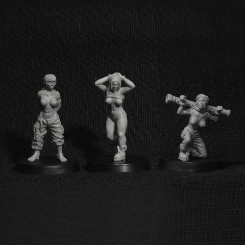 Prisoners of War (3 pcs)