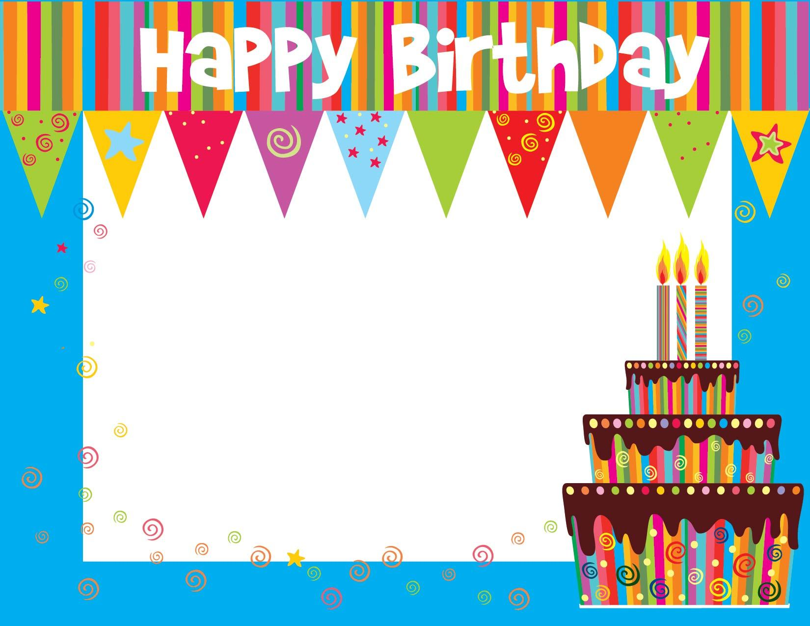 free printable birthday certificate templates and