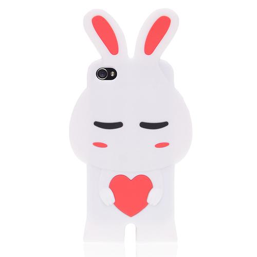 Кейс кролик Pomi для iPhone 4 & iPhone 4S