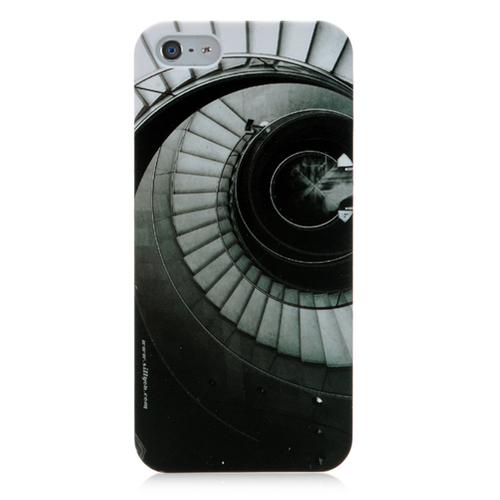 Кейс с фоном круговой лесницы для iPhone 5