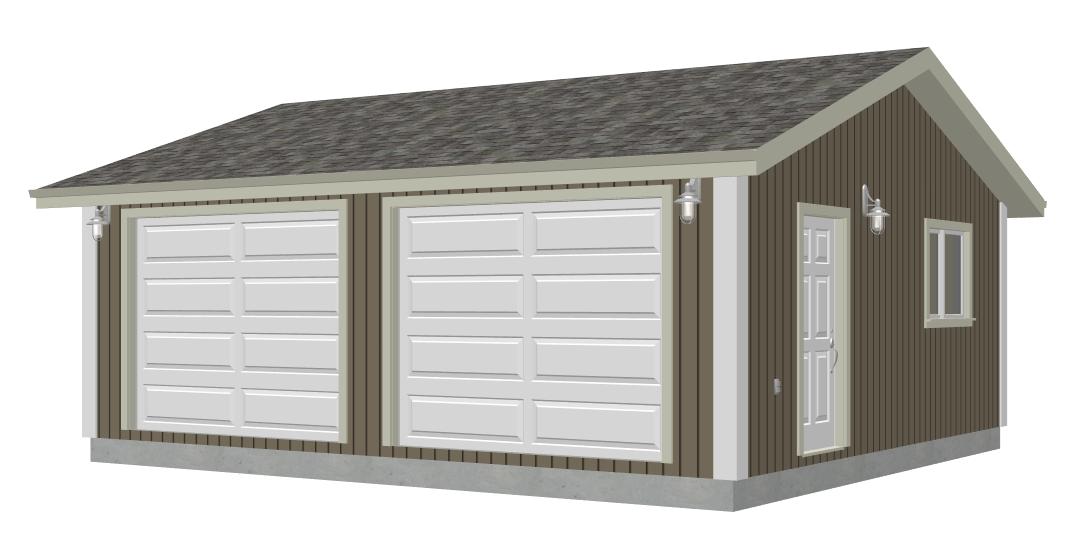 26 X 30 Garage Plans Free Garage Designs – 24 X 26 Garage Plans